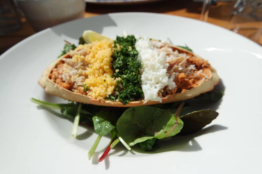 Fishy Fishy Seafood Brasserie crab dermot
