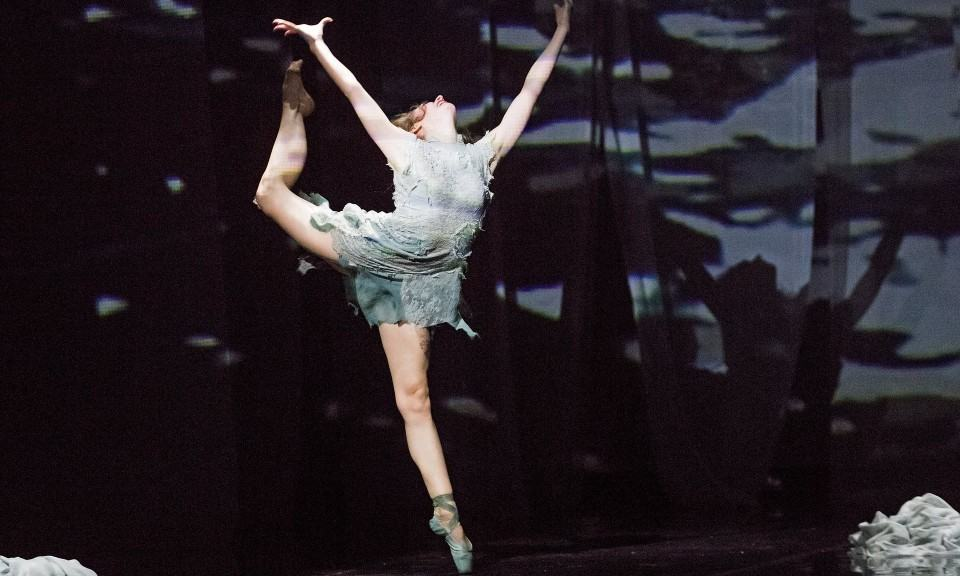 English National Ballet she said ballet sadlers wells Erina Takahasi M-Dao