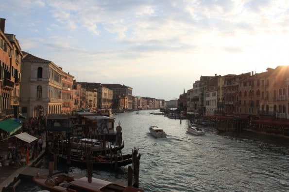 the real venice rialto bridge