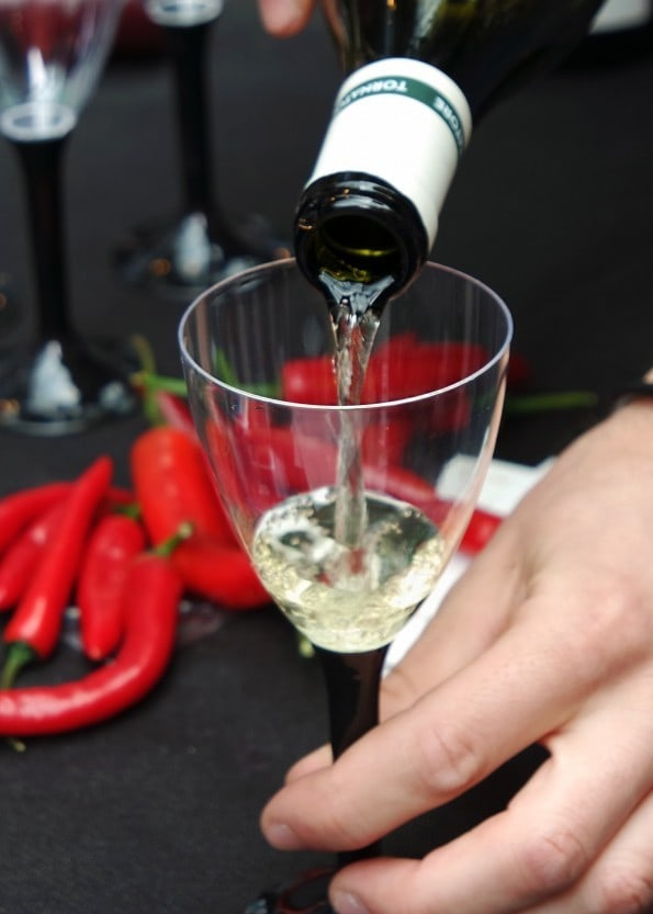 Volcanic Wine and 'Dog'erchiefs at Spitalfields Market sicilyfest