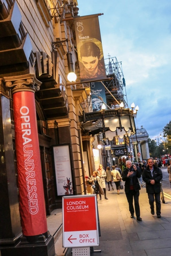 Opera Undressed; A Night at the London Coliseum