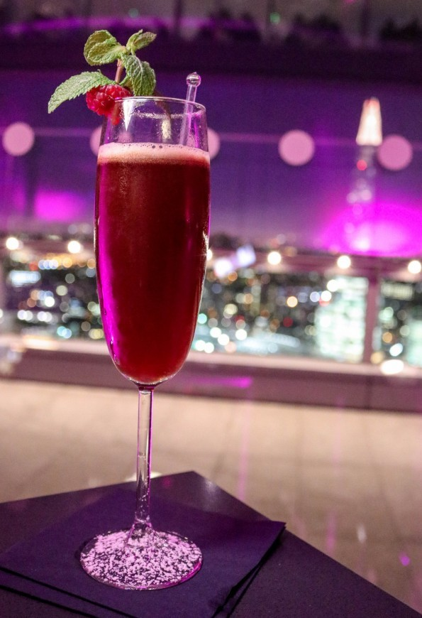 High Expectations at Sky Pod Bar; A Review