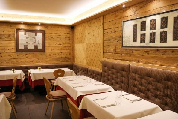 Italian Alpine Cooking at Al Camin, Cortina; A Review
