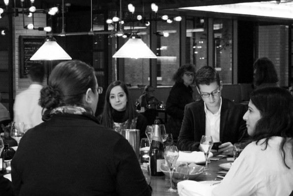 The Big Blogger's Christmas Dinner at OXBO Bankside