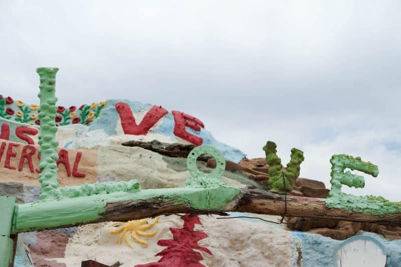 Salvation Mountain; The Strangest Place I've Ever Been