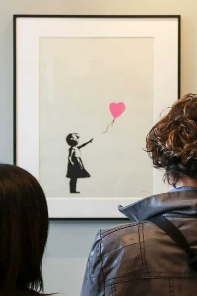 The Banksy/Dali Exhibition at Moco Museum, Amsterdam