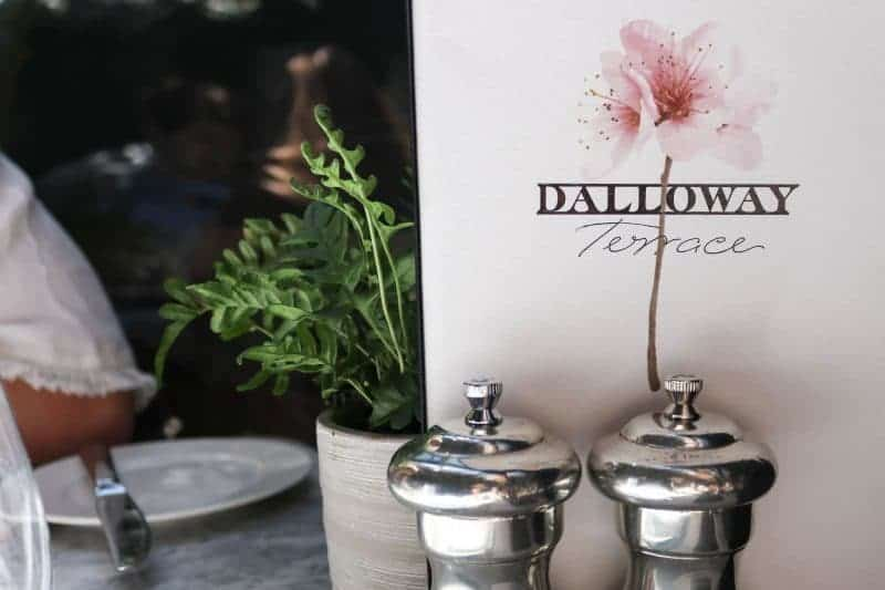 A Sunny Sunday Brunch at Dalloway Terrace