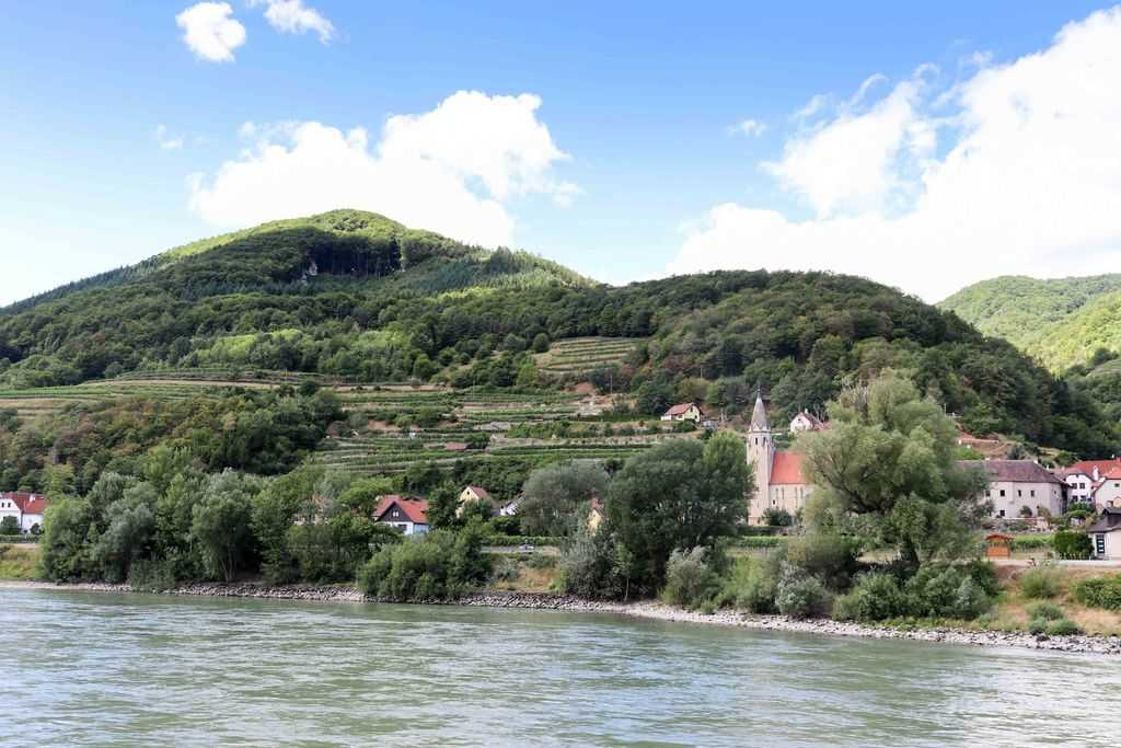 Postcards from Vienna and Wachau Valley