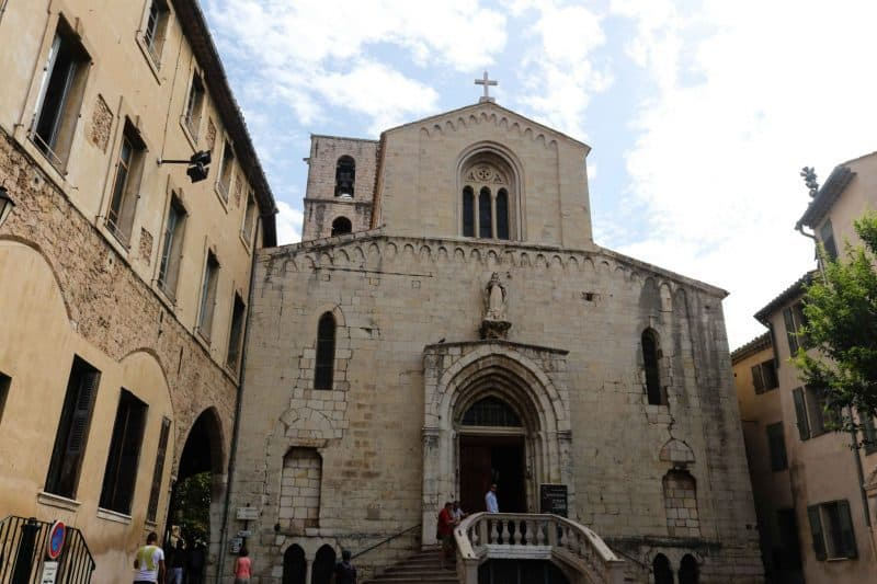 Church in Grasse, France
