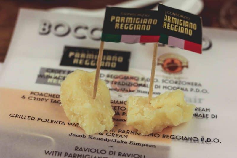 parmesan cheese bocca di lupo