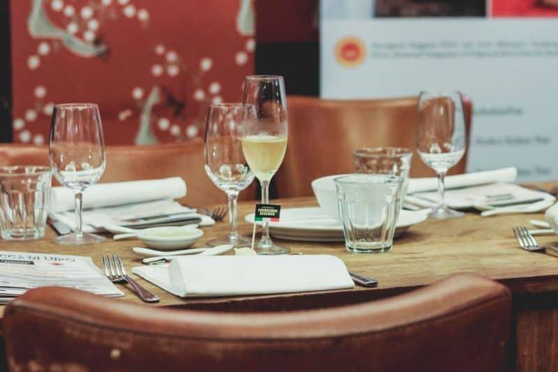 bocca di lupo table restaurant