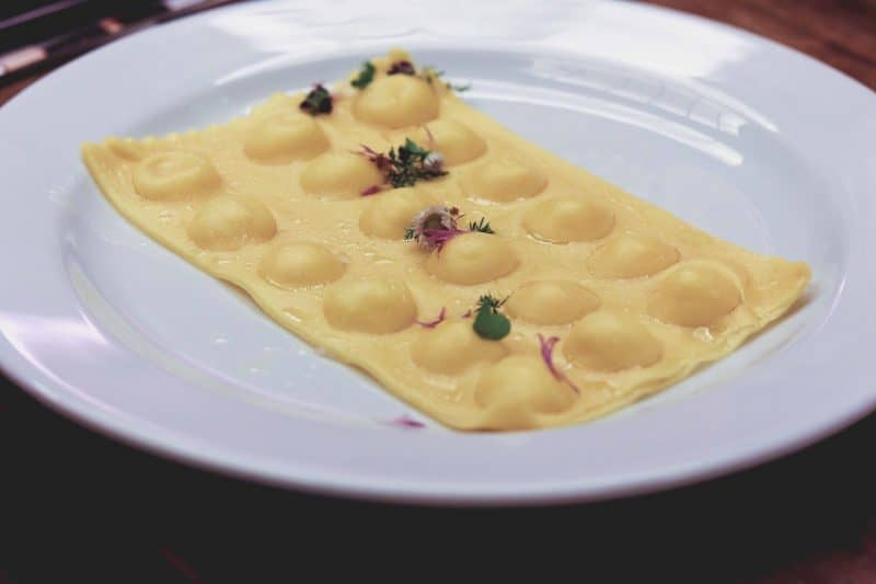 ravioli Michelin star