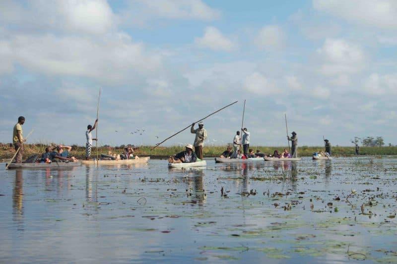 Mokoro Botswana Okavango delta