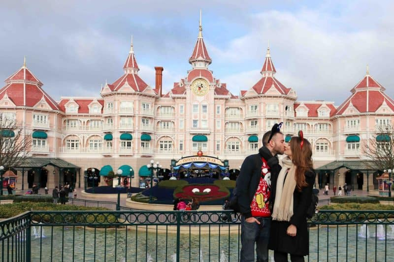Disneyland paris kiss