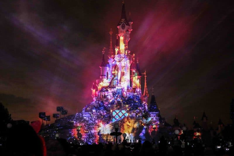 disney illuminations projection
