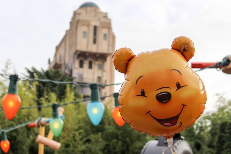 Winnie balloon Disneyland paris