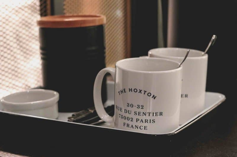hoxton hotel mugs