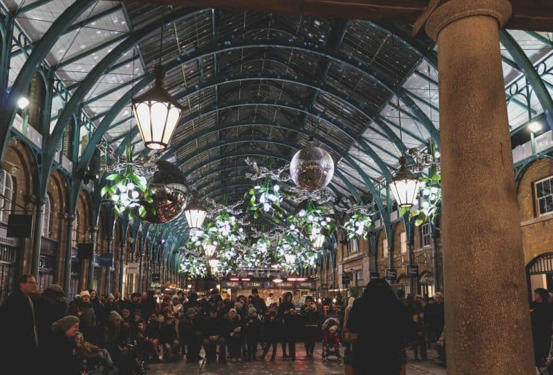 covent garden christmas