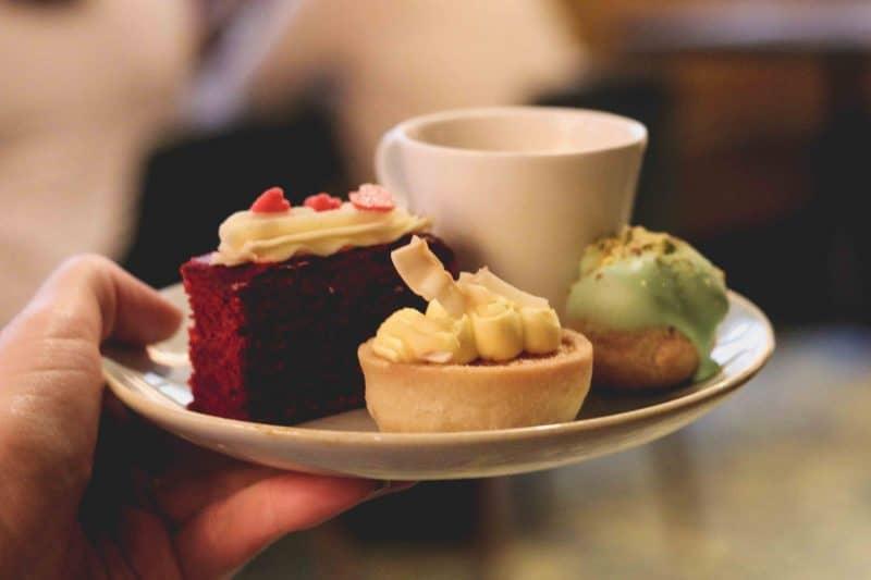oxbo Bankside desserts