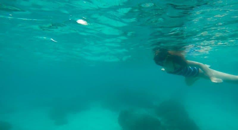 snorkelling gopro hero 4 thailand