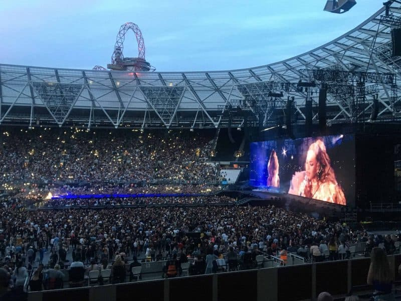 beyonce otrII tour london