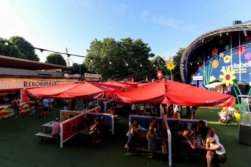 rekorderlig udderbelly festival south bank london