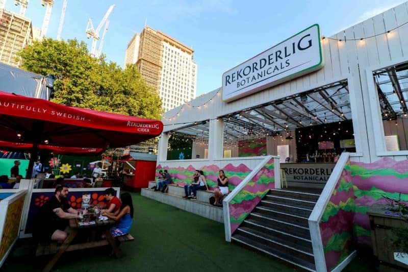 rekorderlig bar udderbelly south bank