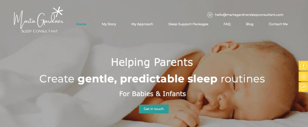 Marta Gardner Sleep Consultant