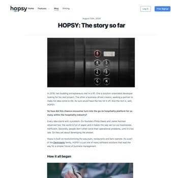 brand story copywriting