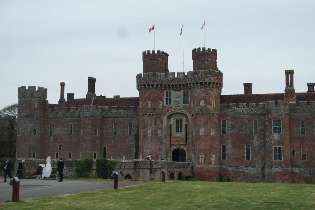 Herstmonceux Castle east sussex wedding