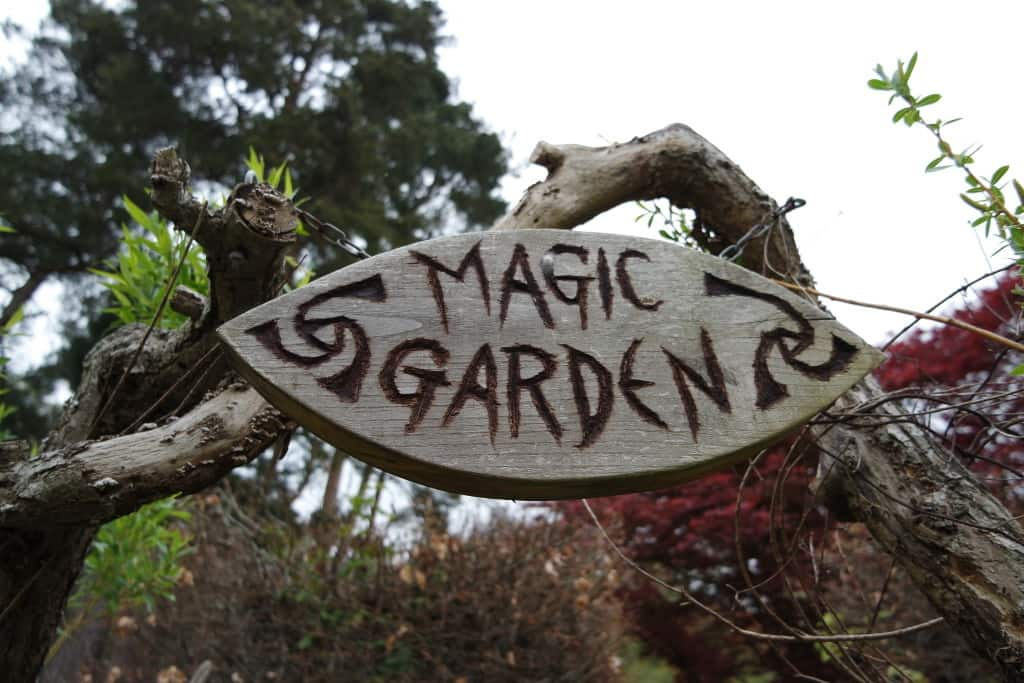 Herstmonceux Castle magic garden