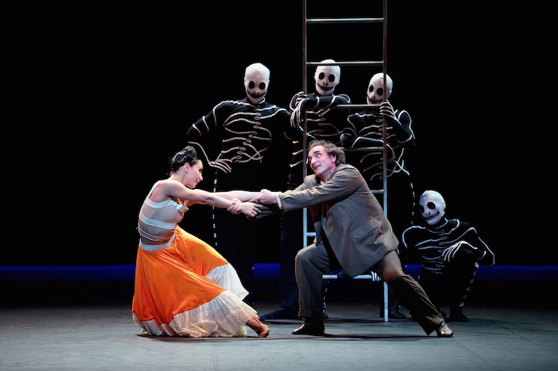 English National Ballet Broken Wings Sadler Wells She Said ballet Broken Wings