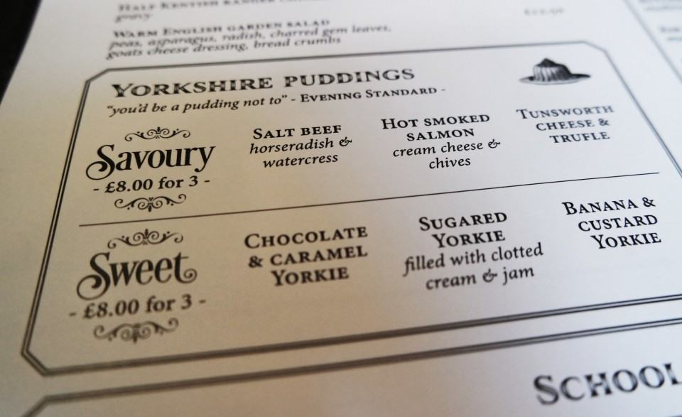 reform social and grill yorkshire pudding menu