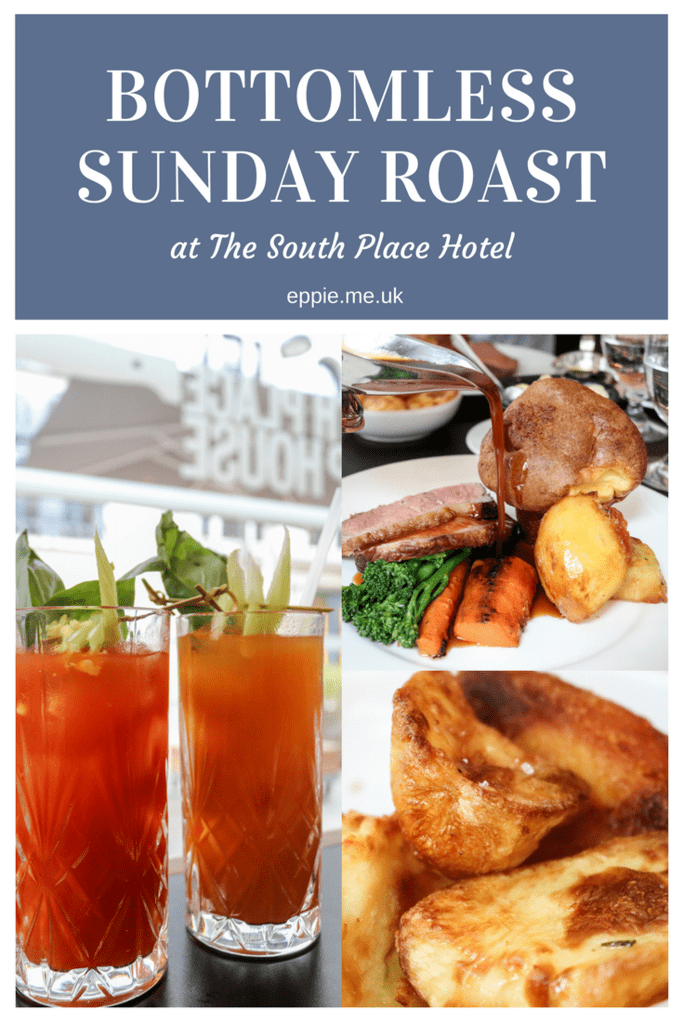 Bottomless Sunday Roast at South Place Chop House