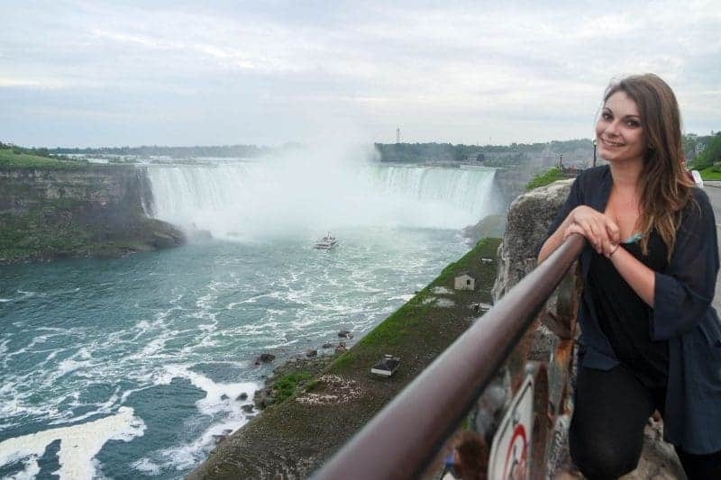 How not to see Niagara Falls