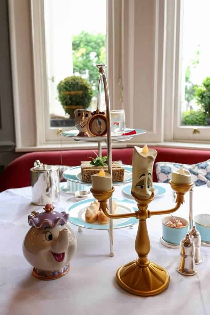 Beauty & The Beast Afternoon Tea at the Town House, Kensington Hotel