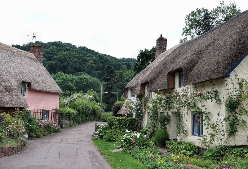 Exploring Exmoor National Park; Bossington, Selworthy & Dunster