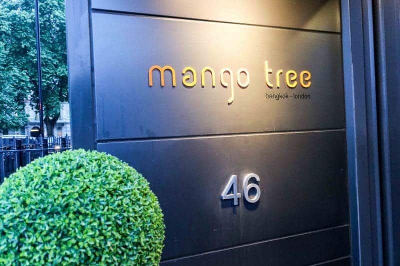 An Asian Feast at Mango Tree, Belgravia