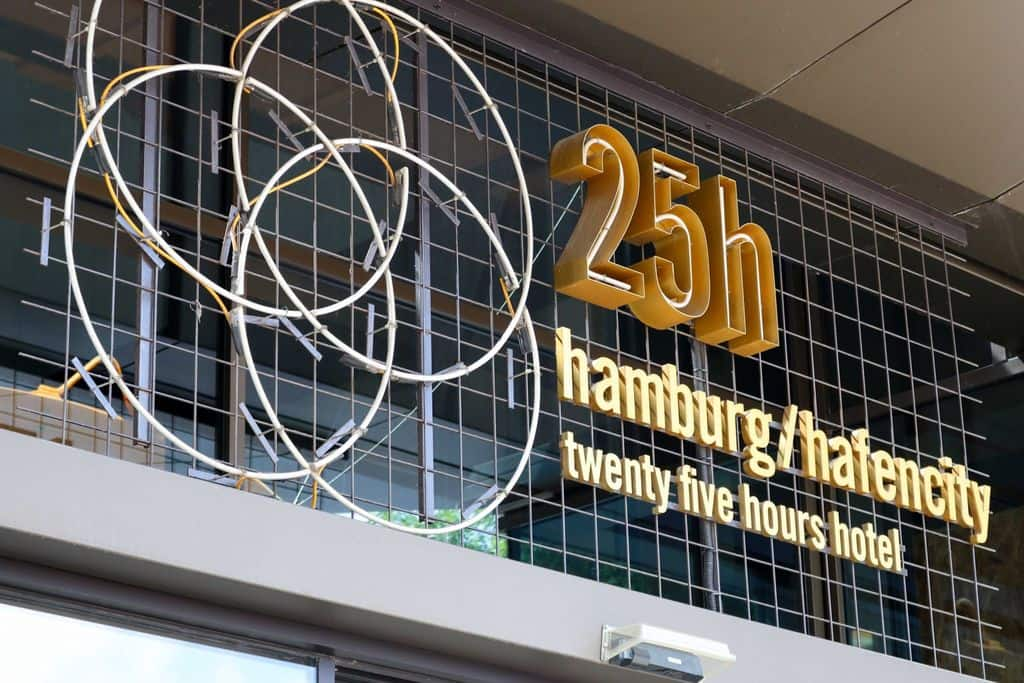 The 25hours Hotel Hamburg Hafen City