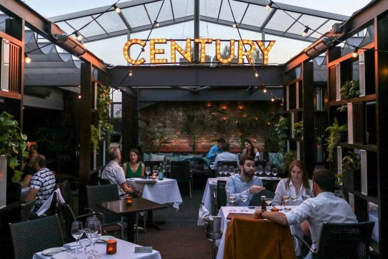 Weirdly Wonderful Rooftop Dining at Century Club, Soho